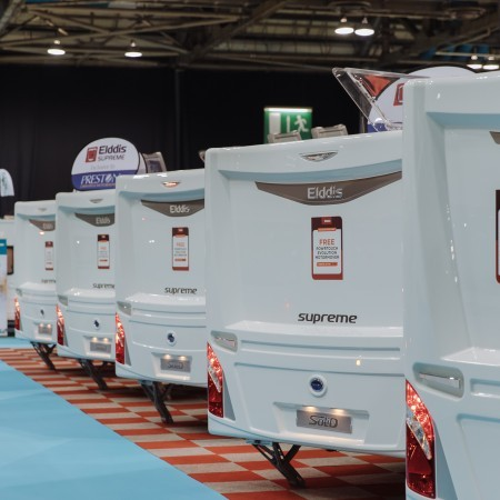 The Scottish Caravan, Motorhome & Holiday Home Show breezes through Storm Ciara with record-breaking success image