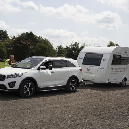 Caravan and Motorhome Club Towing and Manoeuvring Tuition