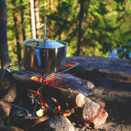 The ultimate guide to campfire cooking  image